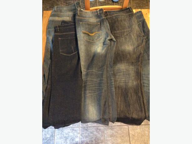 Mens Jeans- 5 pairs in 38 reg and 38 long