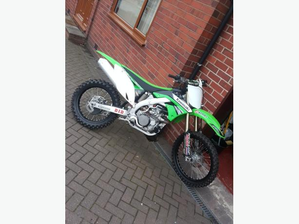 2011 KX450F *SHOWROOM CONDITION*