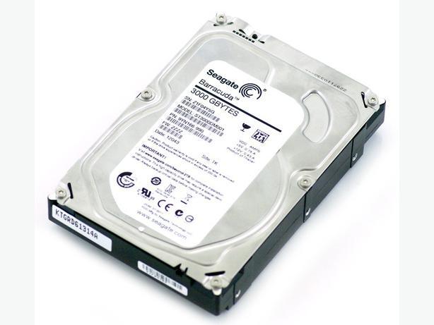 seagate 3 TB HDD
