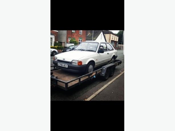 1987 Ford Escort Classic project ideal rs turbo conversion