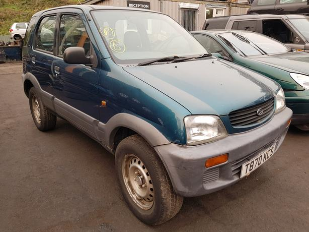 Daihatsu Terios 16v 1.3 petrol 5-speed manual