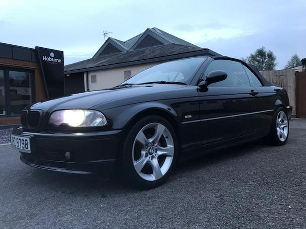 BMW 318ci Convertible in Black - SERVICE HISTORY - CLEAN CONDITION