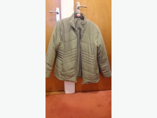green coat size 18