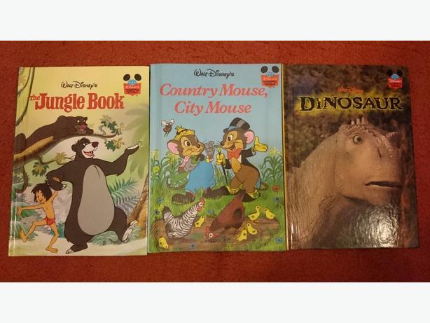 X3 Disney books by