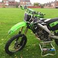 kx250 2008 £1400 ono or swap 125cc road bike no chinese