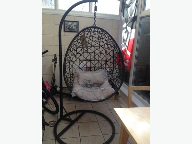 new hanging egg chair