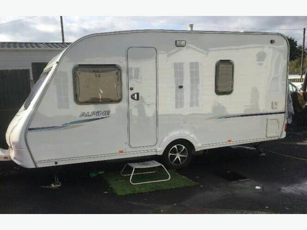 2008 Sprite alpine fixed caravan