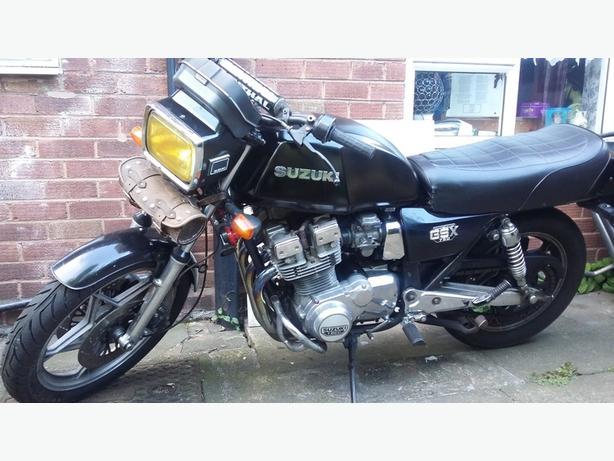 Suzuki gsx750 ex old skool muscle bike