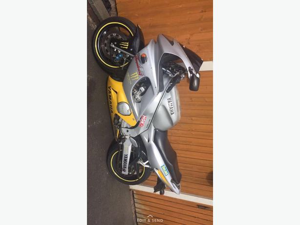 FOR TRADE: yamaha yzf 600r