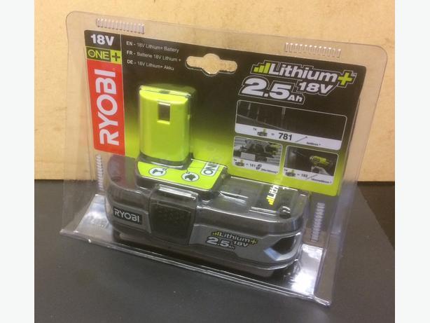Brand new Ryobi 18 volt lithium battery