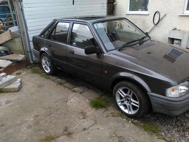 ford escort mk4 1.4cc mot 2018 and abs