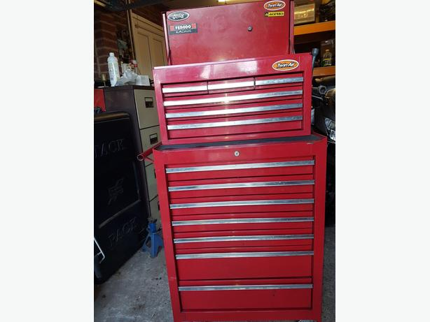 tool trolley chest with some tools