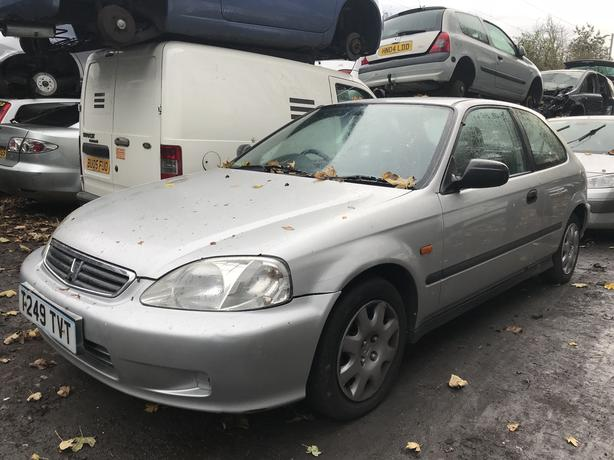 Honda Civic 1999 1.4 Petrol Silver 3dr Breaking For Spares