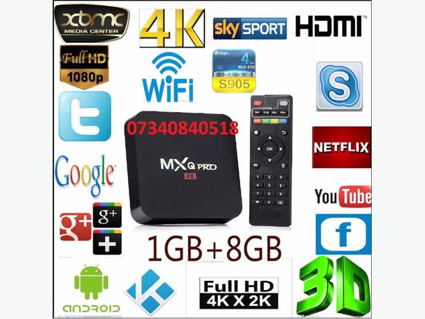 ANDROID MXQ PRO 1GB RAM 8 GB NAND FLASH LATEST 7.1 ANDROID IPTV FLASH ROM