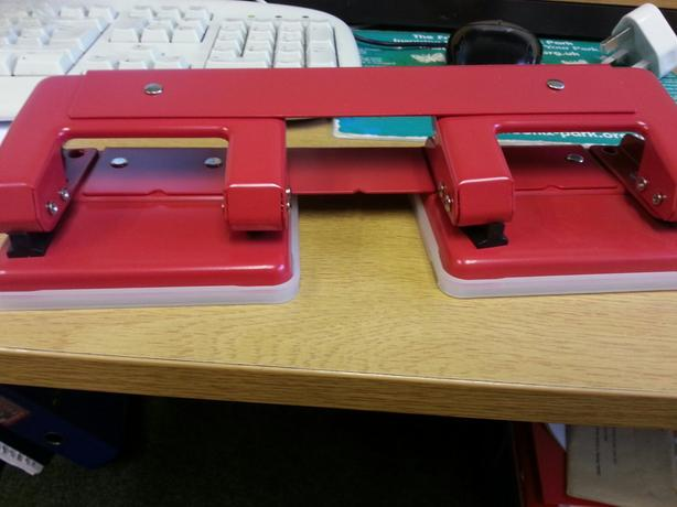 two hole puncher