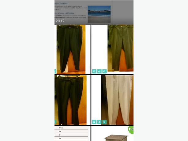 x4 size 18 short women's trousers