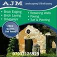 AJM drive ways fencing gardens ect.....