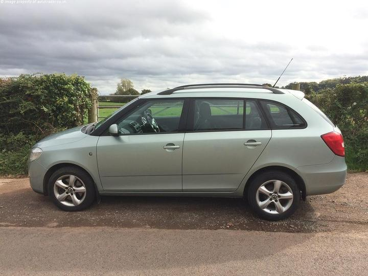 skoda fabia 1 4 tdi pd 80 greenline estate with fsh long mot bournville birmingham. Black Bedroom Furniture Sets. Home Design Ideas