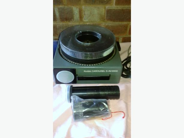 Kodak carousel slide projectors-av2000