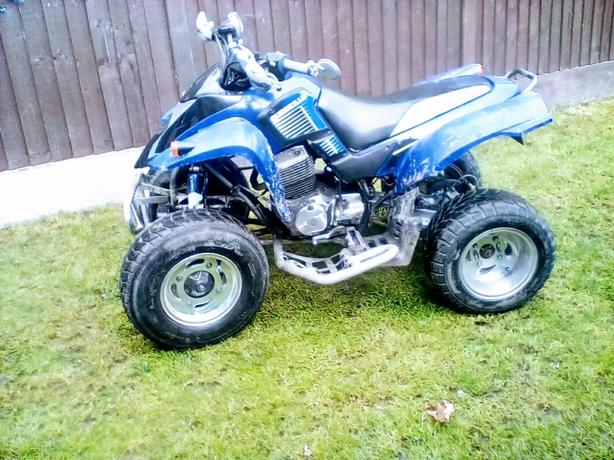 Quadzilla 250e road legal tax &mot 2004