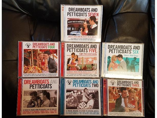 Dreamboats & petticoats Vol. 1, 2. 3. 4. 5. 6, 7. All 2cd's .