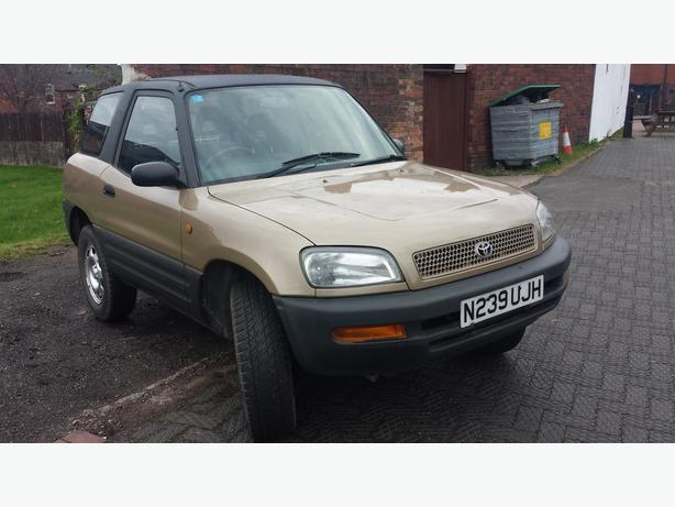 toyota rav 4 spares or repairs