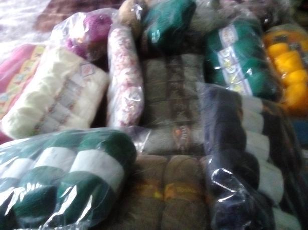 Massive amount of knitting wool
