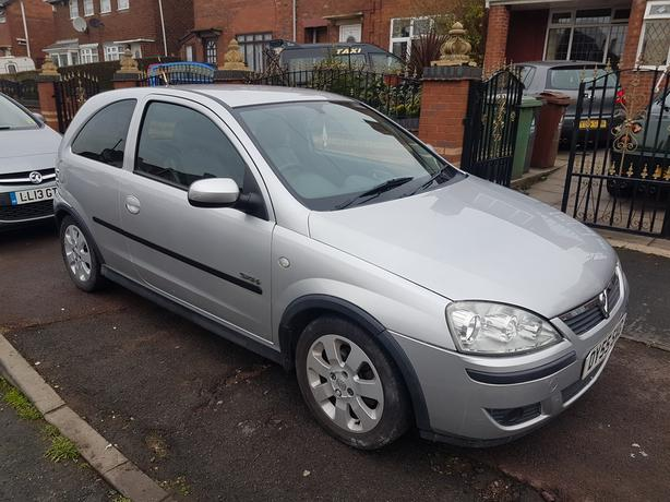 55 REG VAUXHALL CORSA 1.4 SXI + DRVIES WITHOUT FAULT £850 NO SILLY OFFERS