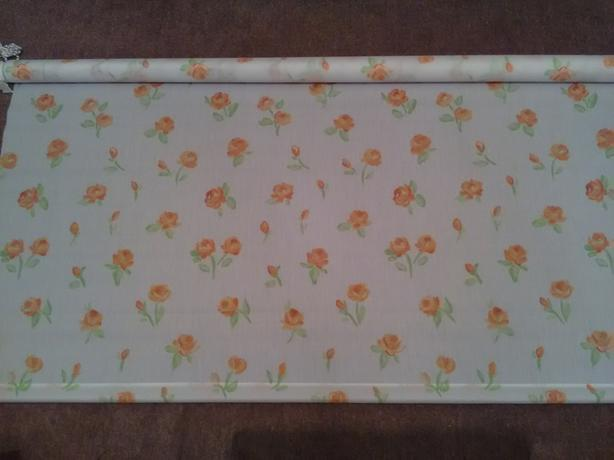 Floral 4ft roller blind new