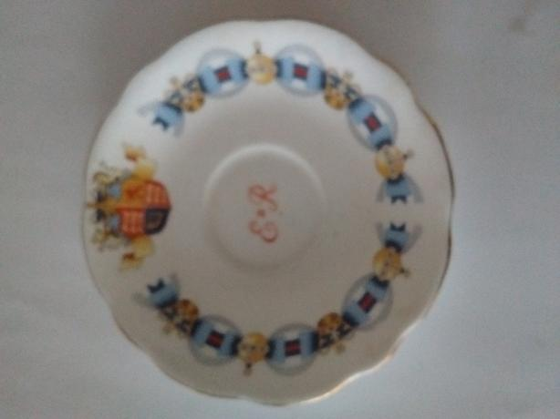 Foley Bone China June 1953 Coronation Elizabeth II Saucer