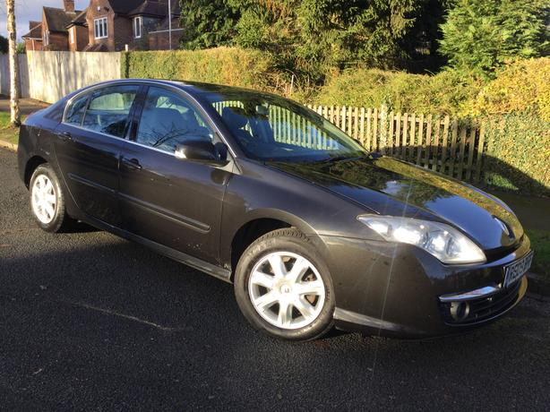Renault Laguna 1.5dCi 110 Dynamique hatch – new shape with PSH & long MOT !