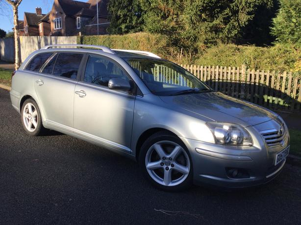 Toyota Avensis 2.2 D-4D T Spirit estate – fully loaded & long MOT !