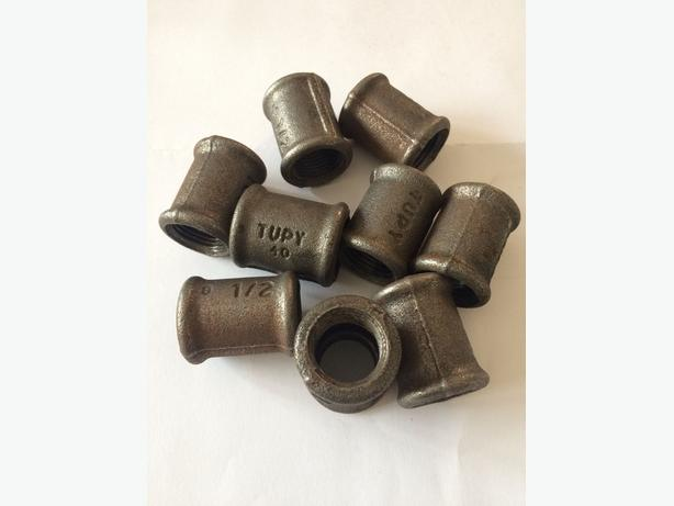 """MALLEABLE IRON PIPE FITTINGS SOCKET 1/2"""" BSPT"""