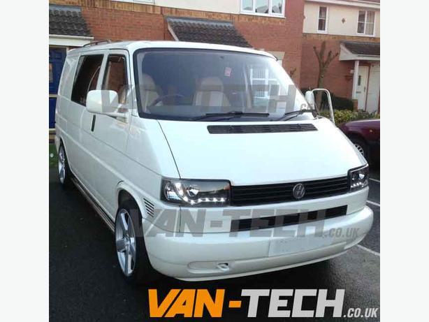  Log In needed £195 · VW Transporter T4 Headlights DRL LED 1990 - 2003