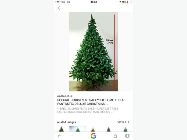 8ft christams tree