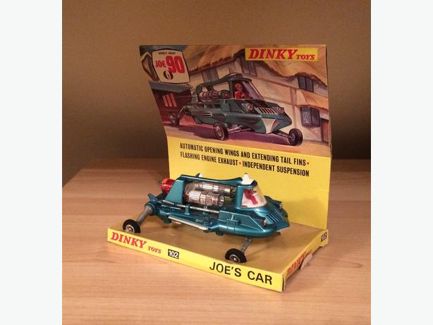 Dinky Joe 90 car boxed with display stand