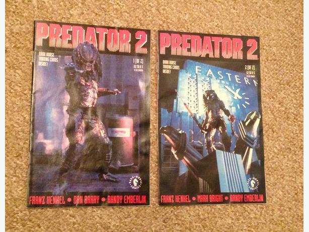Predator comics. Predator 2 movie version Dark Horse