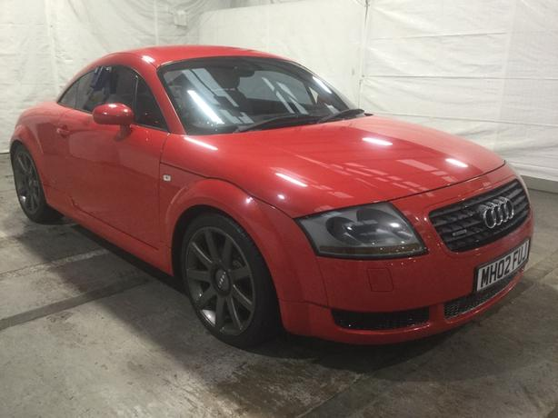 Audi TT 1.8 T Quattro 3dr, Red + WHITE LEATHER, Low 82k mileage