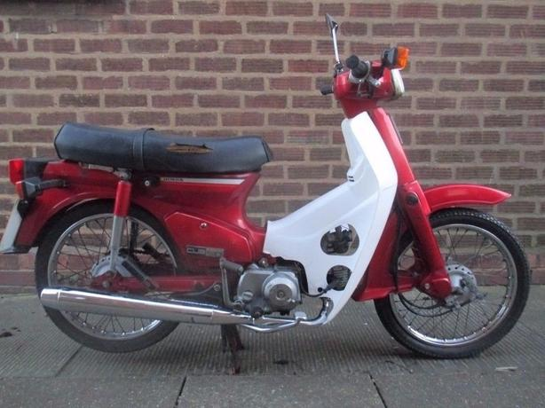Honda Cub 90 90cc Original 1997 classic rare moped bike
