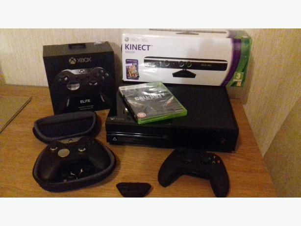 XBOX ONE 500GB WITH ELITE JOYPAD AND KINECT