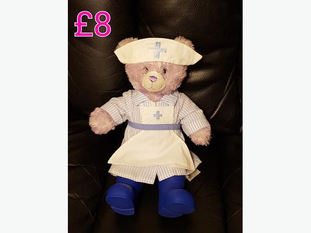 Build A Bear With Nurse Outfit