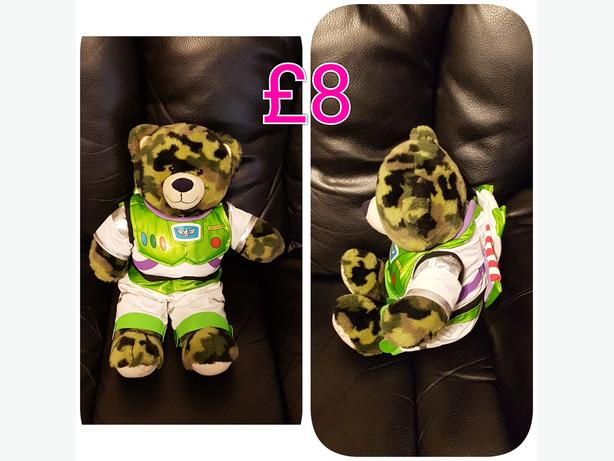 Build A Bear With Buzz Light Year Outfit