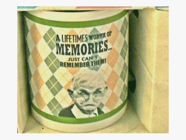 Grumpy Old Gits novelty mug