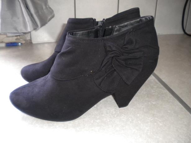 LADIES ANKLE BOOTS DOROTHY PERKINS SIZE 7 (NEW)