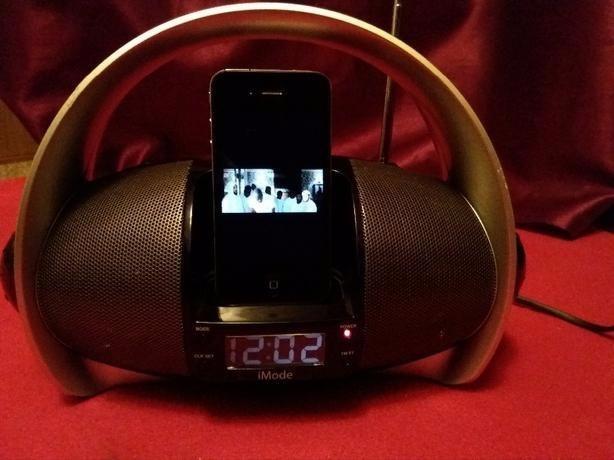 iMode iPod RADIO Boom box with Docking station