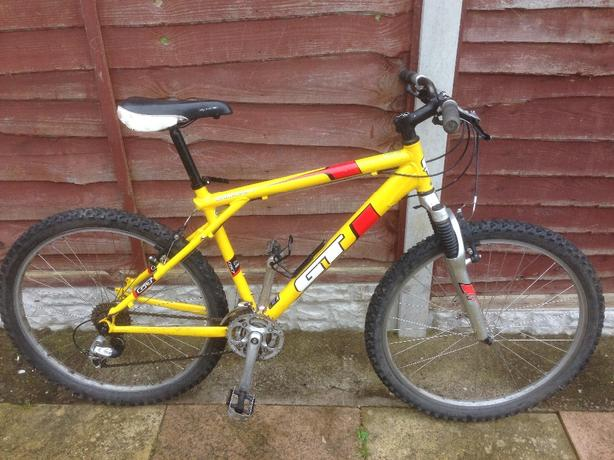 Mens 20 Inch Gt Aggressor 2 Suspension Mountain Bike 24 Speed
