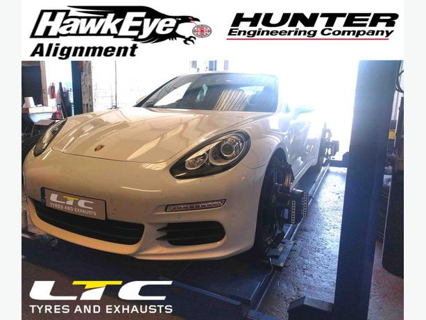 Hunter Hawkeye 4 Wheel Alignment (Tracking)
