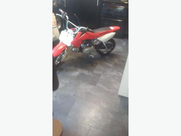 honda crf 50 motorbike