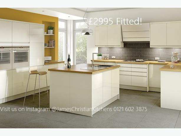 Complete kitchen package! Including fitting, tiling and appliances..