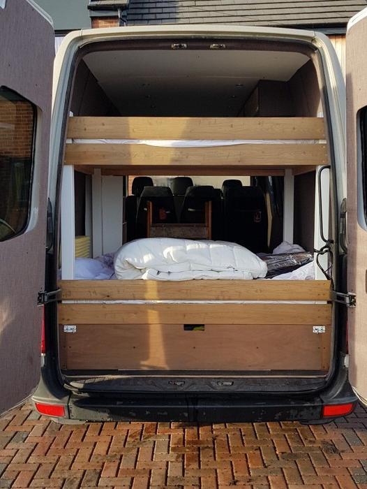 Used Mercedes Sprinter Van >> Mercedes Sprinter / Crafter MWB - Outland Camper Racevan Racehome Day Van ready Halesowen, Walsall